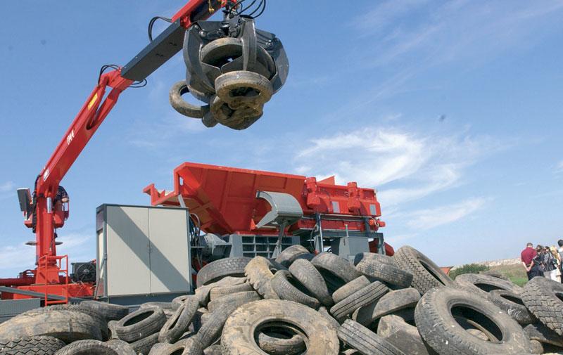 Prva srpska fabrika za reciklažu auto guma