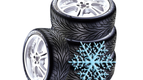 Oznaka pahuljice je simbol svake zimske gume