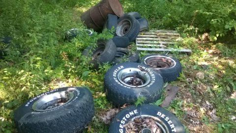 Put od recikliranih guma