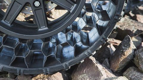 Terrain Armor: Gume koje primaju metak