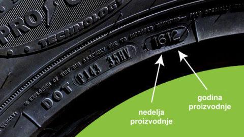 Kako da znate koliko je guma stara?