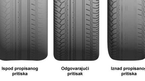 Šta vam guma može reći o autu?