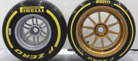 Formula 1 Pirelli gume od 18 coli