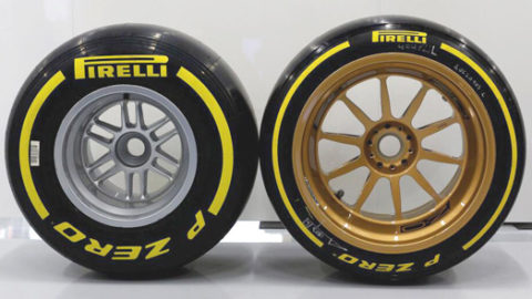 Pirelli: Gume od 18 inča na testu