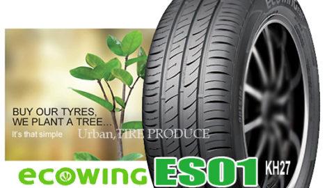 Štedljiva: Kumho Ecowing ES01 KH27