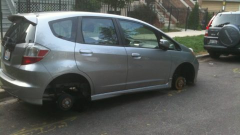 Kako da sačuvate gume od kradljivaca?