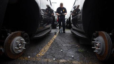 Vozači oprez: Lopovi skidaju zimske gume