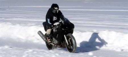 Vožnja motocikla tokom zime