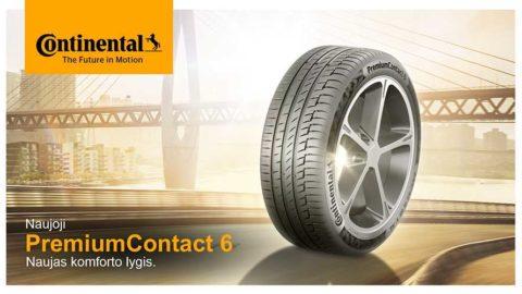 Nove auto gume Continental Premium Contact 6