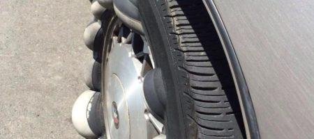 Klobuci (jaje) nastaju usled oštećenja bočne strane gume