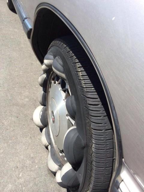 Tipična oštećenja na gumama