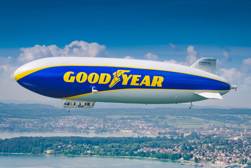 Upoznajte bolje GoodYear cepelin - ikonu kompanije